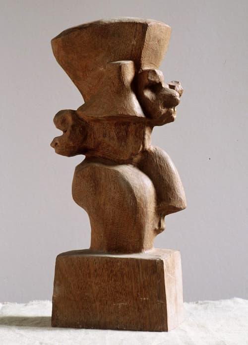 Esculturas de Joaquín García Donaire - Máscara mexicana