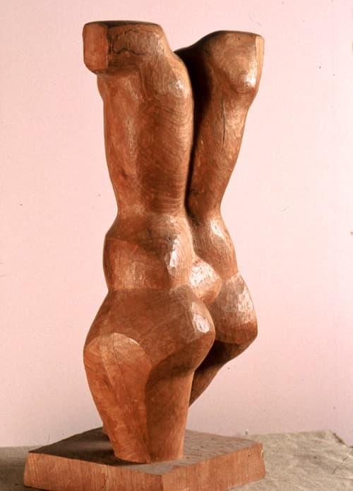 Esculturas de Joaquín García Donaire - Torso de pie