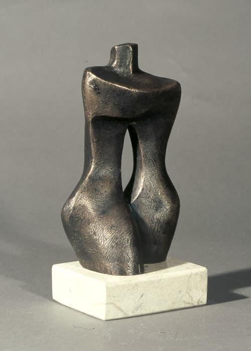 Esculturas de Joaquín García Donaire - Torso doble